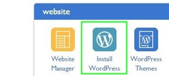 Bluehost CPanel Wordpress