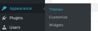 WP Appearance themes